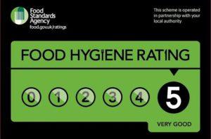 Food Hygiene Rating 5 - La Maison BBQ